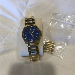 Original Juicy blue faced watch